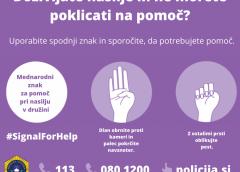 Mednarodni skriti znak za pomoč pri nasilju v družni – ga poznate?